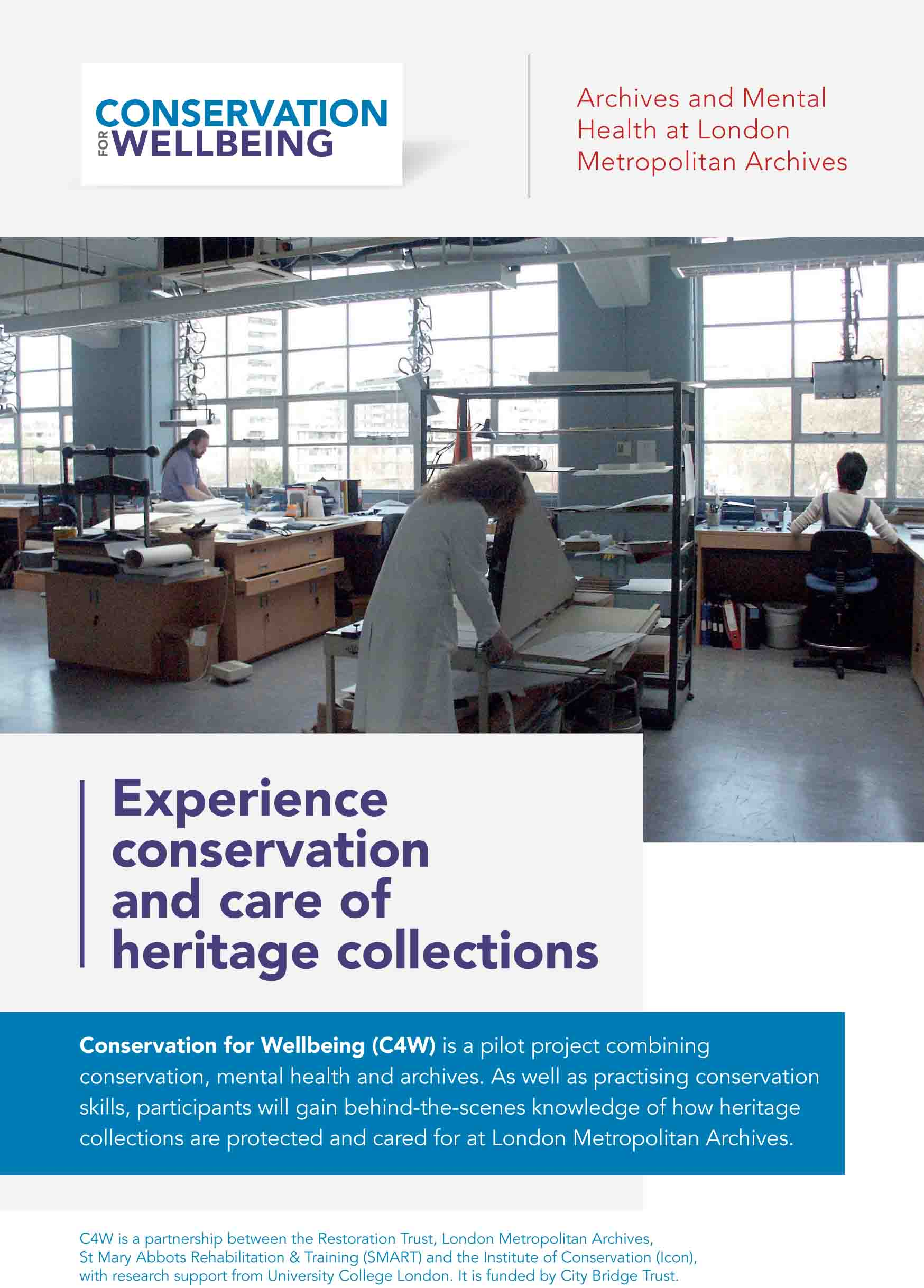 Conservation for Wellbeing Leaflet